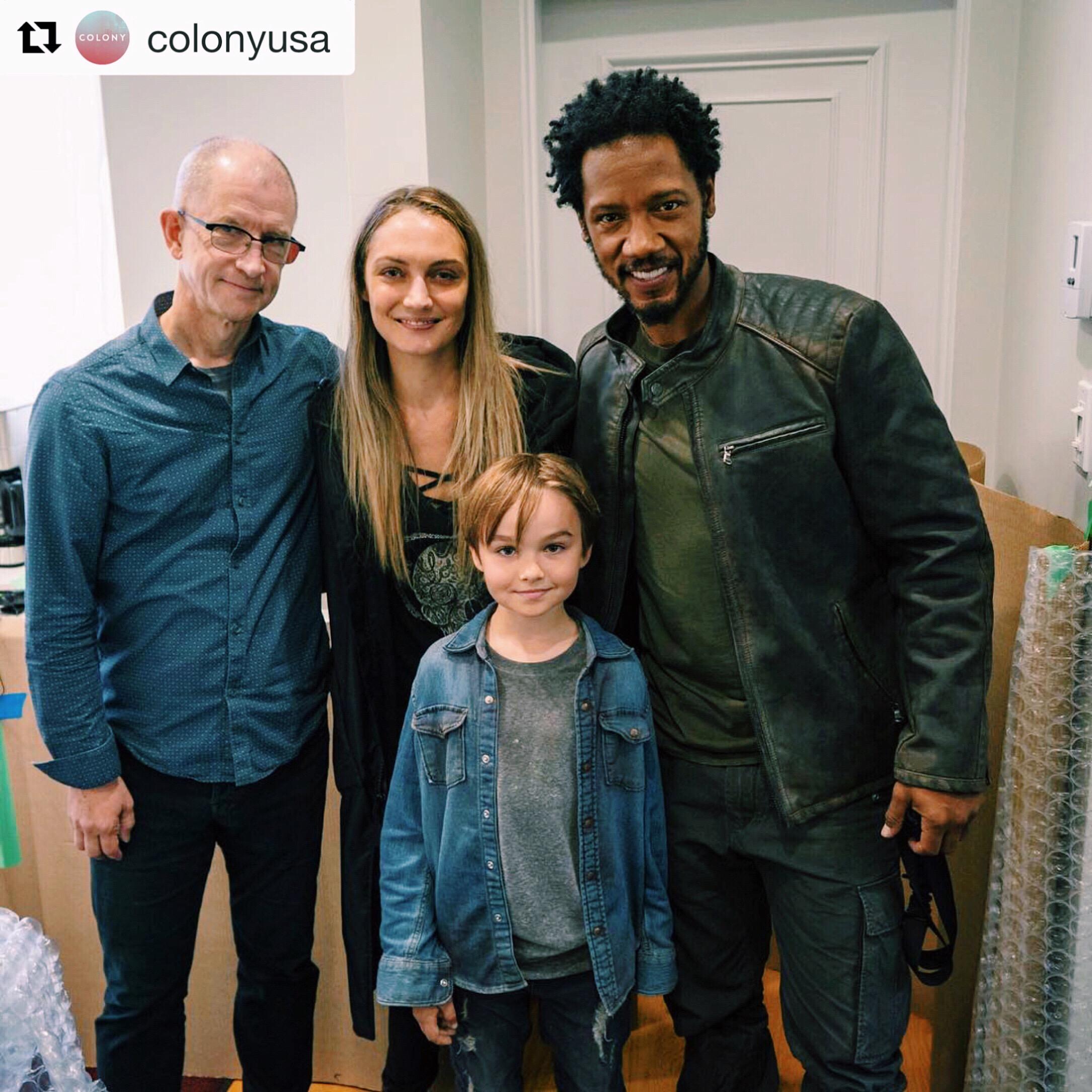 Tim Southam, Hannah Levien, Tory Kittles, Liam Hughes - Colony Season 3