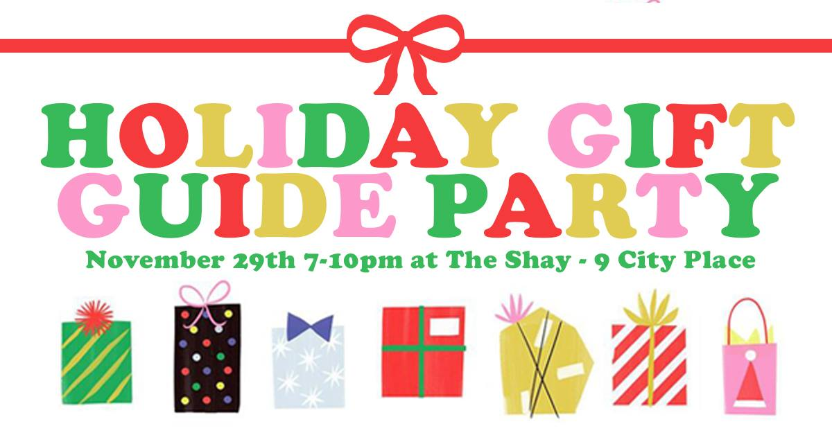 native holiday gift guide party