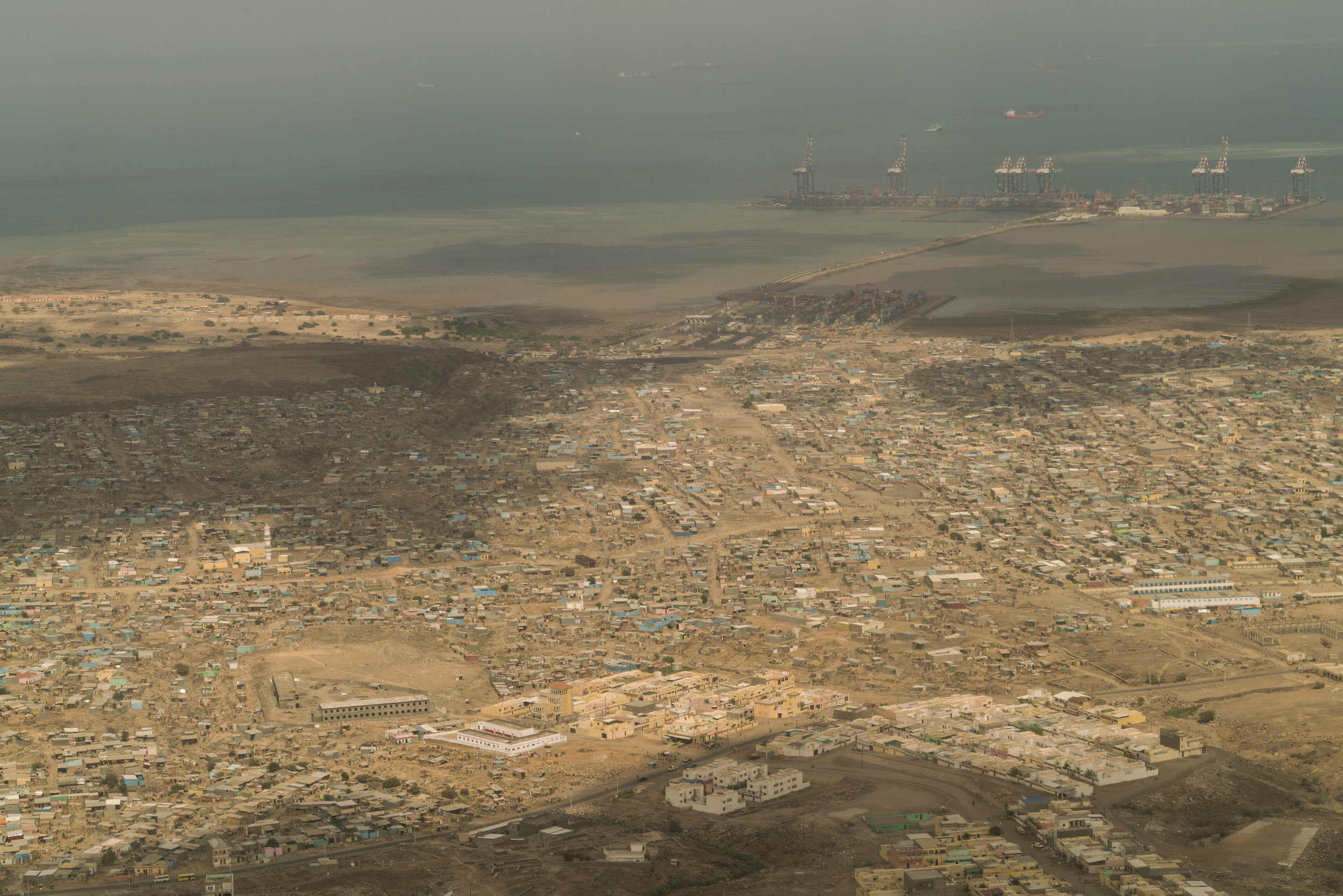 The industrial port city, home to French and American military bases, and a gateway to the Middle East, the capital Djibouti, January 11, 2016.