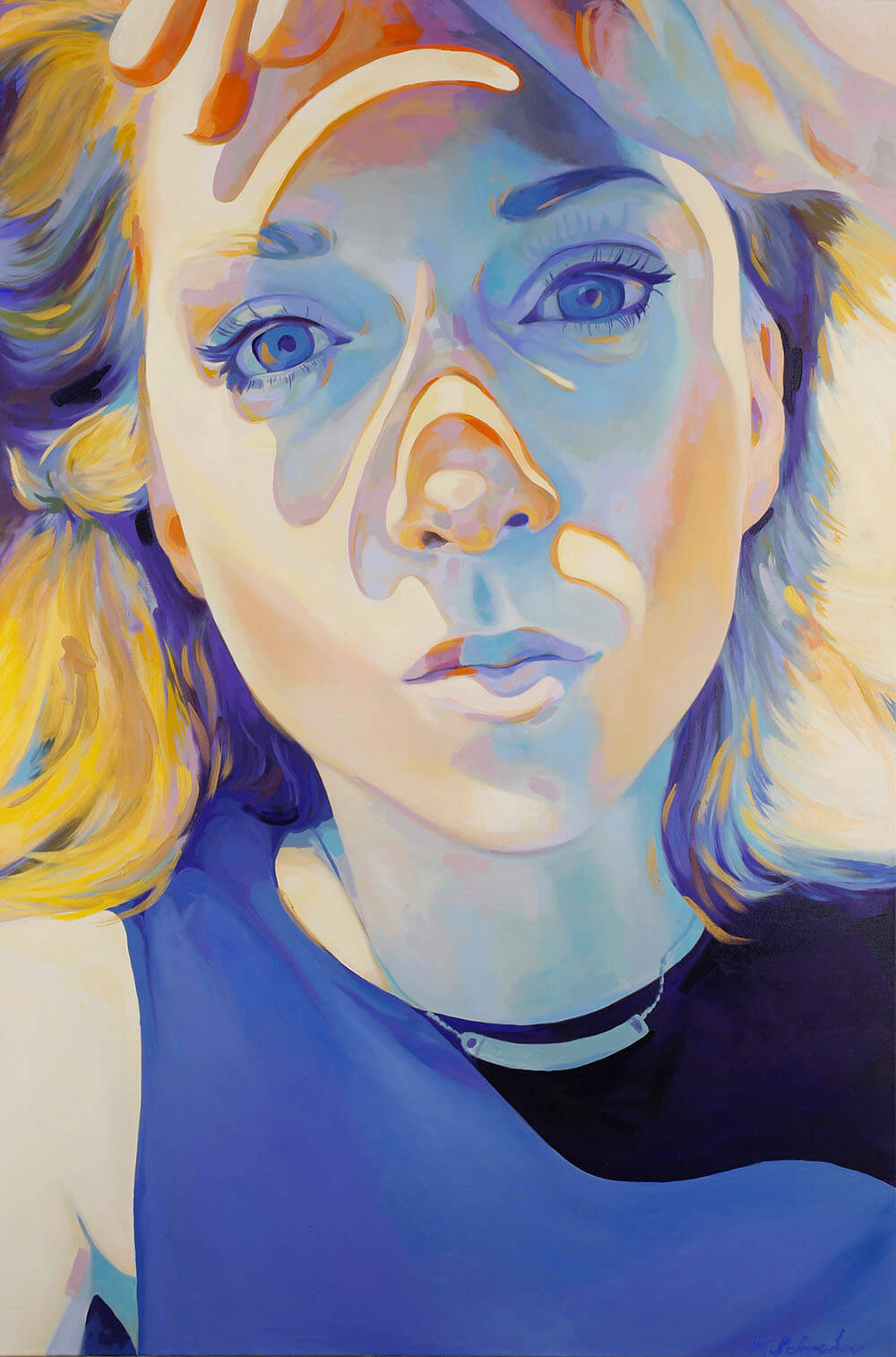"""Dreamed Before, 40""""x60"""" oil on canvas 2015-2017. Honorable Mention Recipient, Minnesota State Fair Fine Art Competition 2017."""