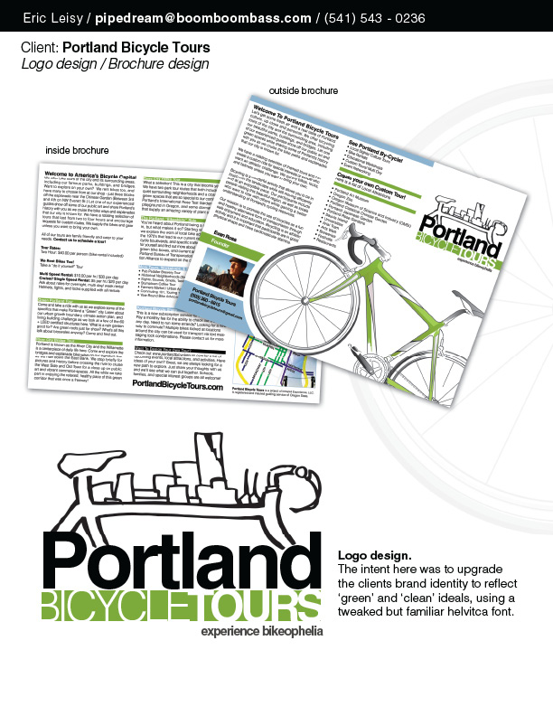 Portland City Bicycle Tours