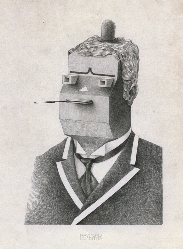 Raymond Lemstra  Tobacco I  pencil on paper  21 x 29,7 cm   Inquire