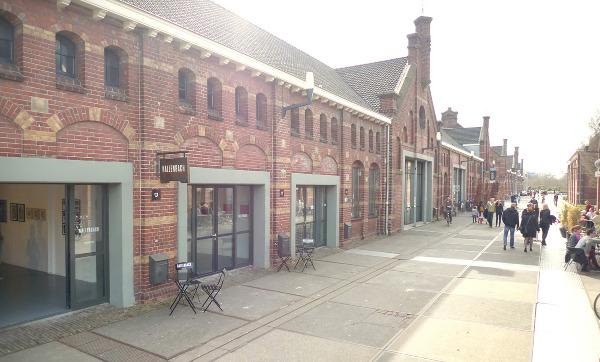 The Kallenbach Gallery, located at the Westergasfabriek in Amsterdam