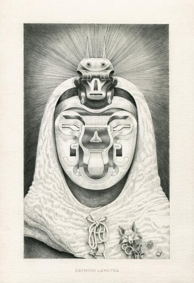 Raymond Lemstra  Ratio  pencil on paper 18 x 26 cm   Inquire