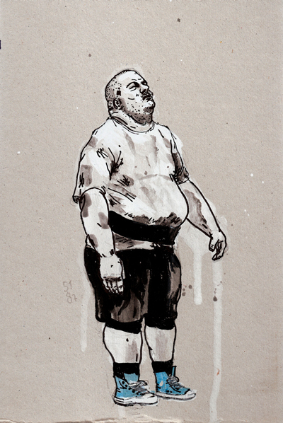 Gijs Kast  Second strongest  20 x 30 cm   Inquire