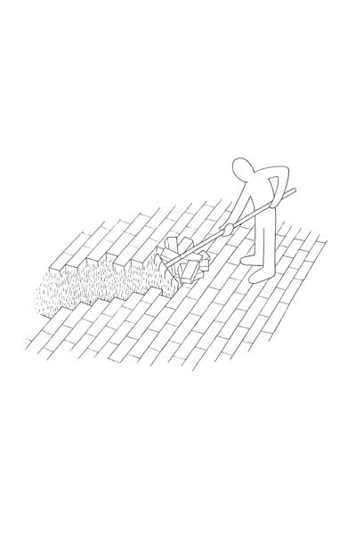 Tomas Schats  Hark  pencil on paper,edition 10 15x 25 cm   Inquire