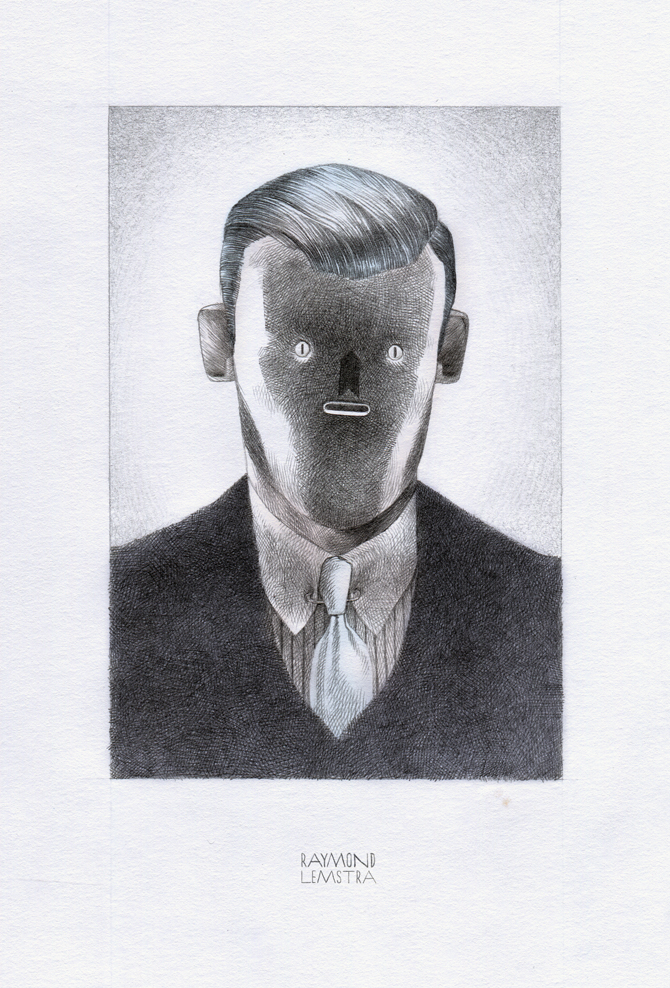 Raymond Lemstra  Portret  Giclée print (edition 30) 20 x 30 cm   Inquire