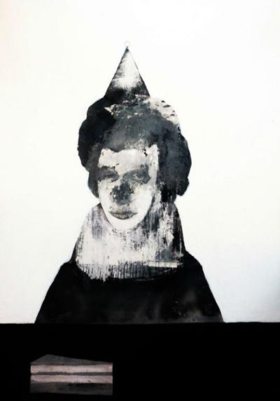 Jeroen Blok  Everday  Mixed media 70 x 100 cm  sold