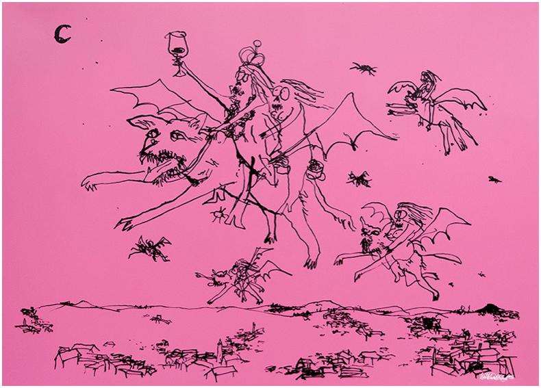 Wayne Horse    The Dark Lord I   170 x 122 cm      Inquire