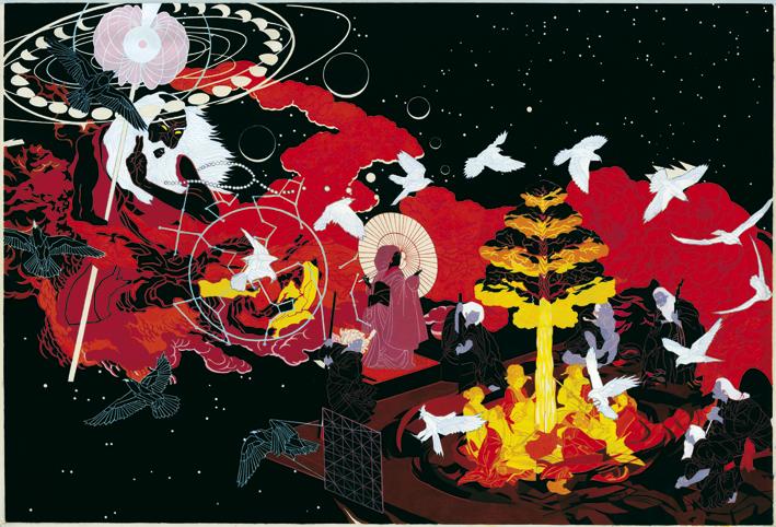 Jon Fox   So Shall It Be  oil on canvas 143 x 100 cm