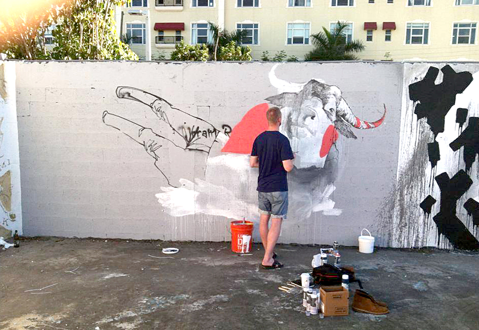 Joram Roukes in Wynwood
