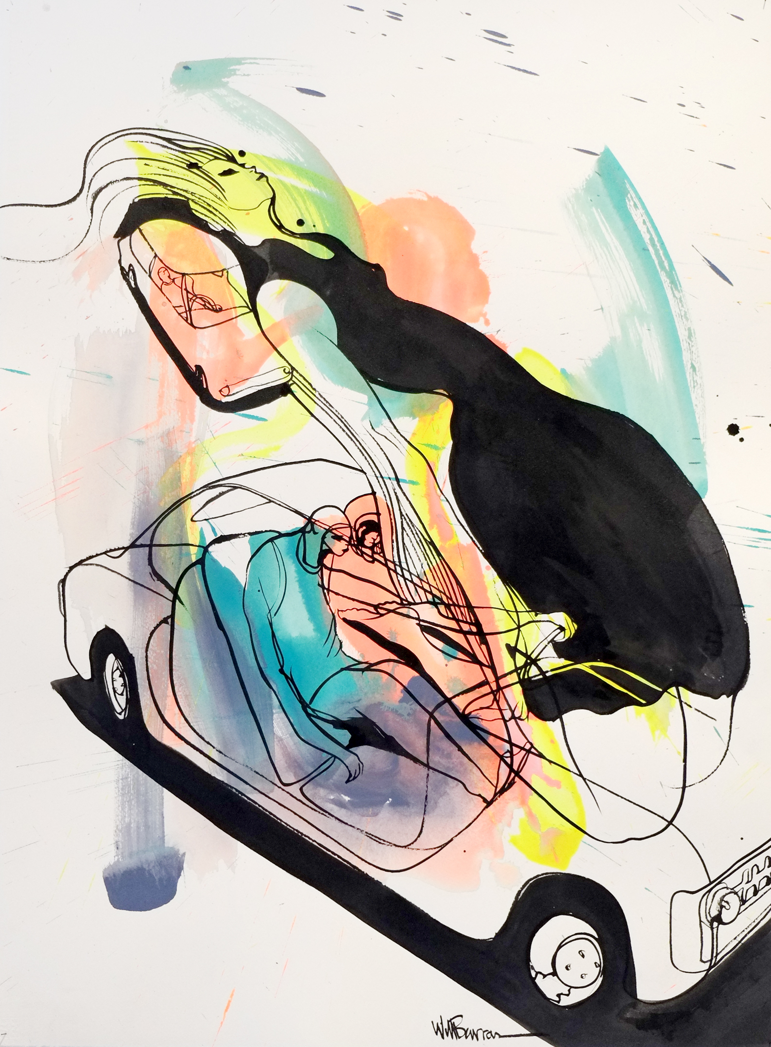 Will Barras - Original Drawings - acrylic and indian ink on 300gr art paper - 56x76cm - 5.jpg