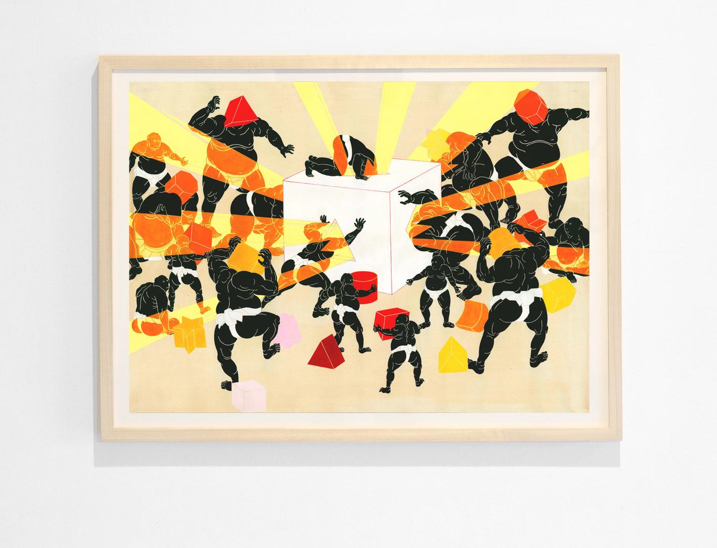 Jon Fox- Faith in Shapes - giclee print - 50x70cm.jpg
