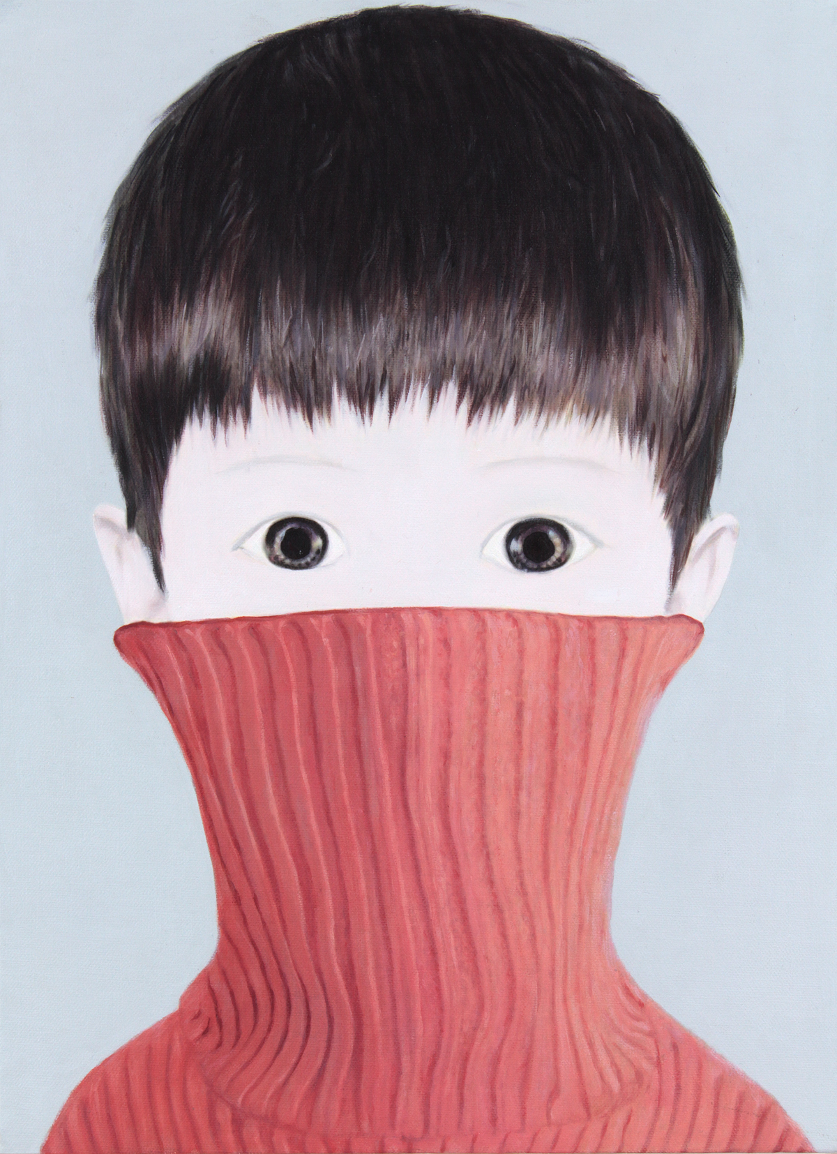 KALLENBACH - Mayuka Yamamoto - red sweater (2014).jpg