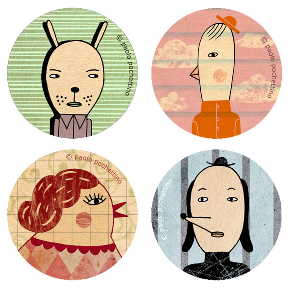 Button Pins: set 2