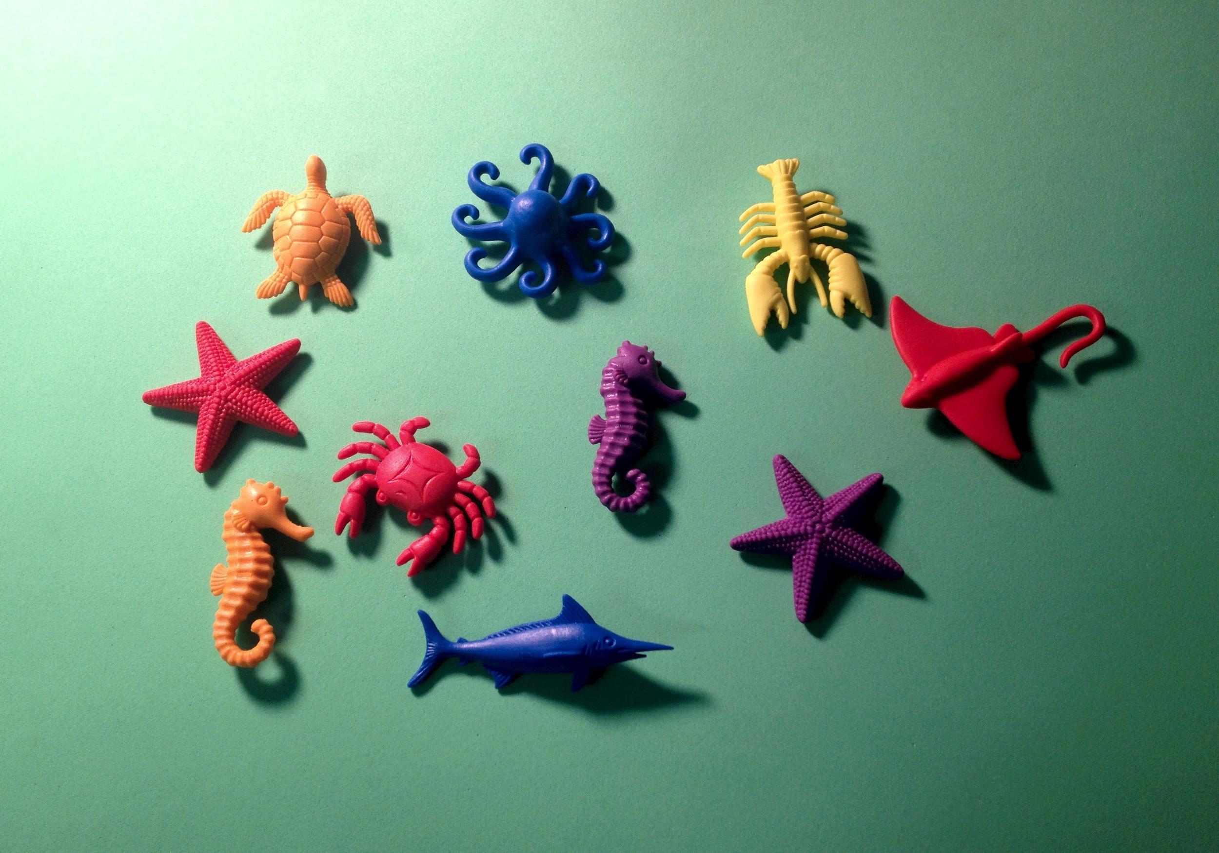 Mini Plastic Sea Creatures (Assorted)