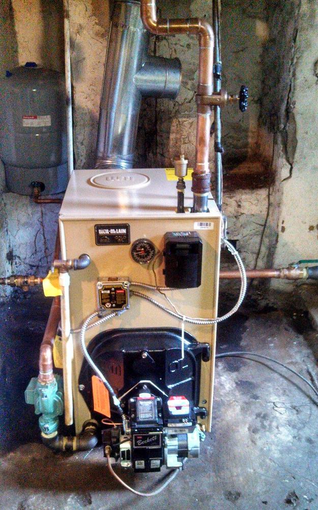 WGO-3 Oil Boiler