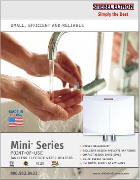 Stiebel Eltron Mini Electric Water Heater