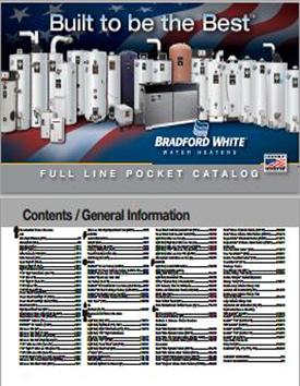 Bradford White 2013 Pocket Catalog