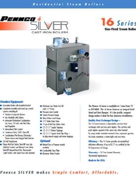16 Series Gas Fired Steam Boiler