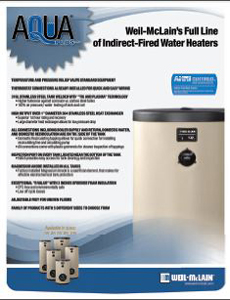 Aqua Plus Indirect Fire Water Heaters