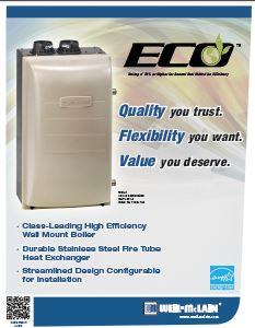 ECO Wall Mount Gas Boiler