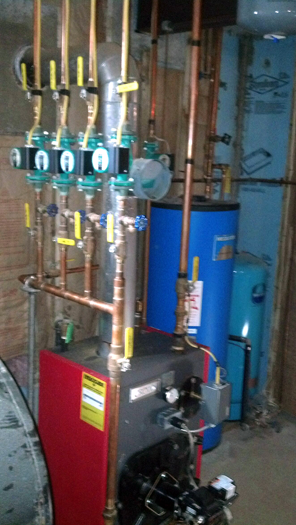 Utica Indirect Boiler