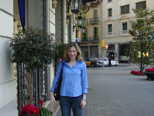 Emily celebrates her 30th birthday in Barcelona.
