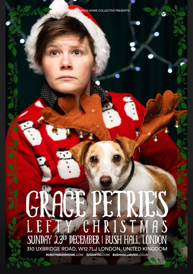 No dogs were harmed in the making of this poster but some lesbians were made to be unseasonably warm