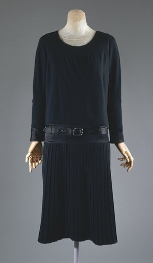 Coco Chanel's Little Black Dress ca.1927, the most iconic fashion of the 20th century.