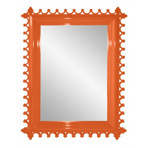 Newport Mirror in Tangerine from Oomph