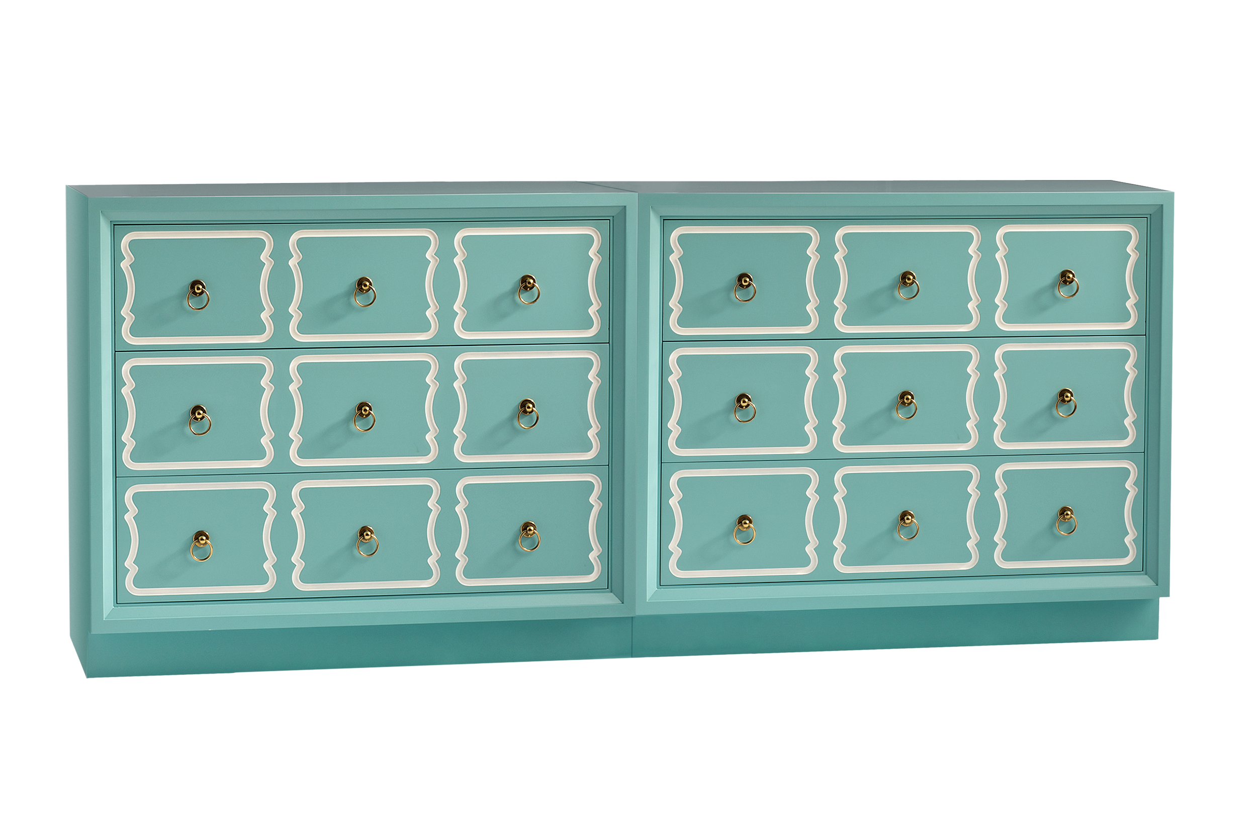 Kindel's iconic Espana Bunchin Double Dresser