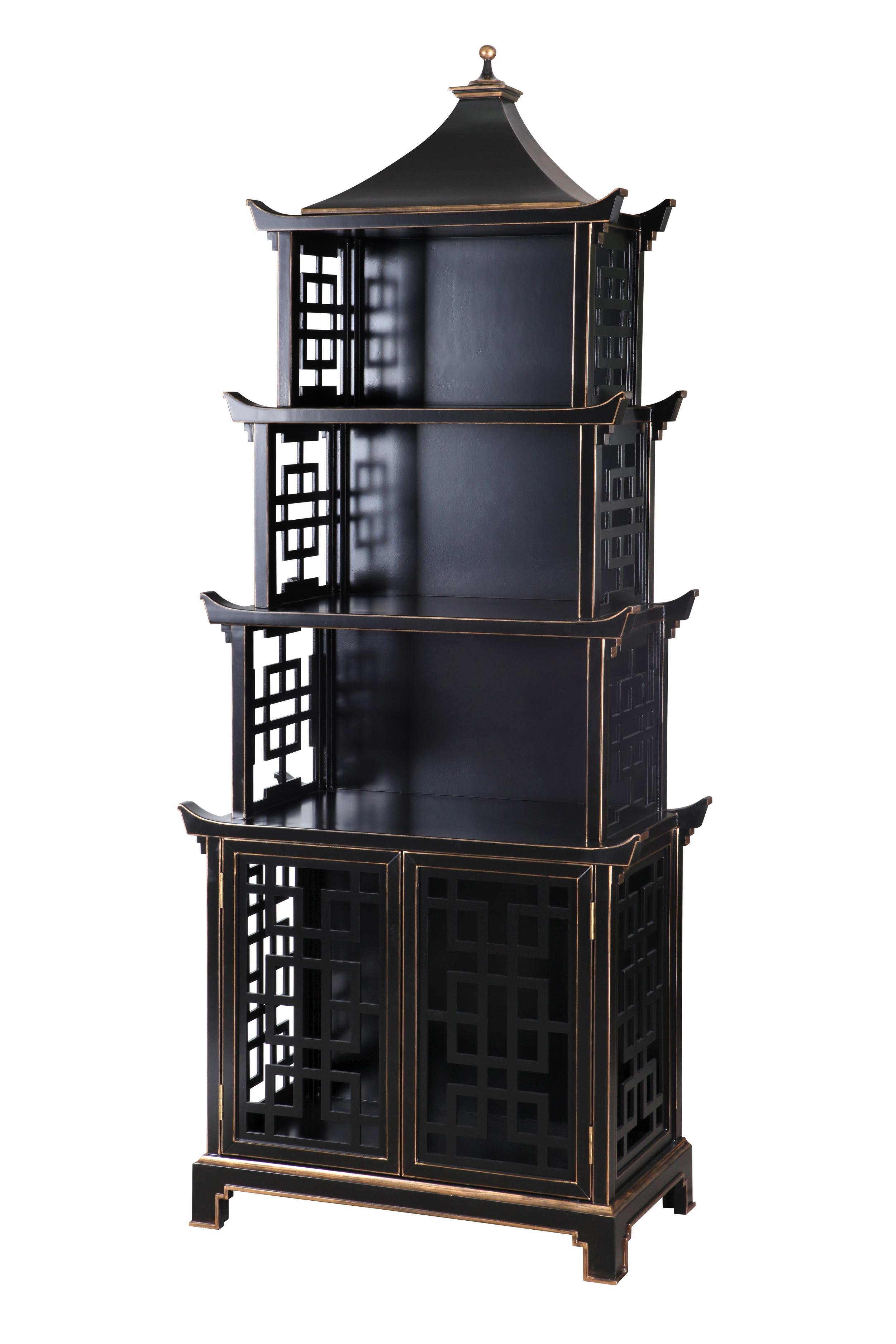 Pagoda étagère for Bungalow 5