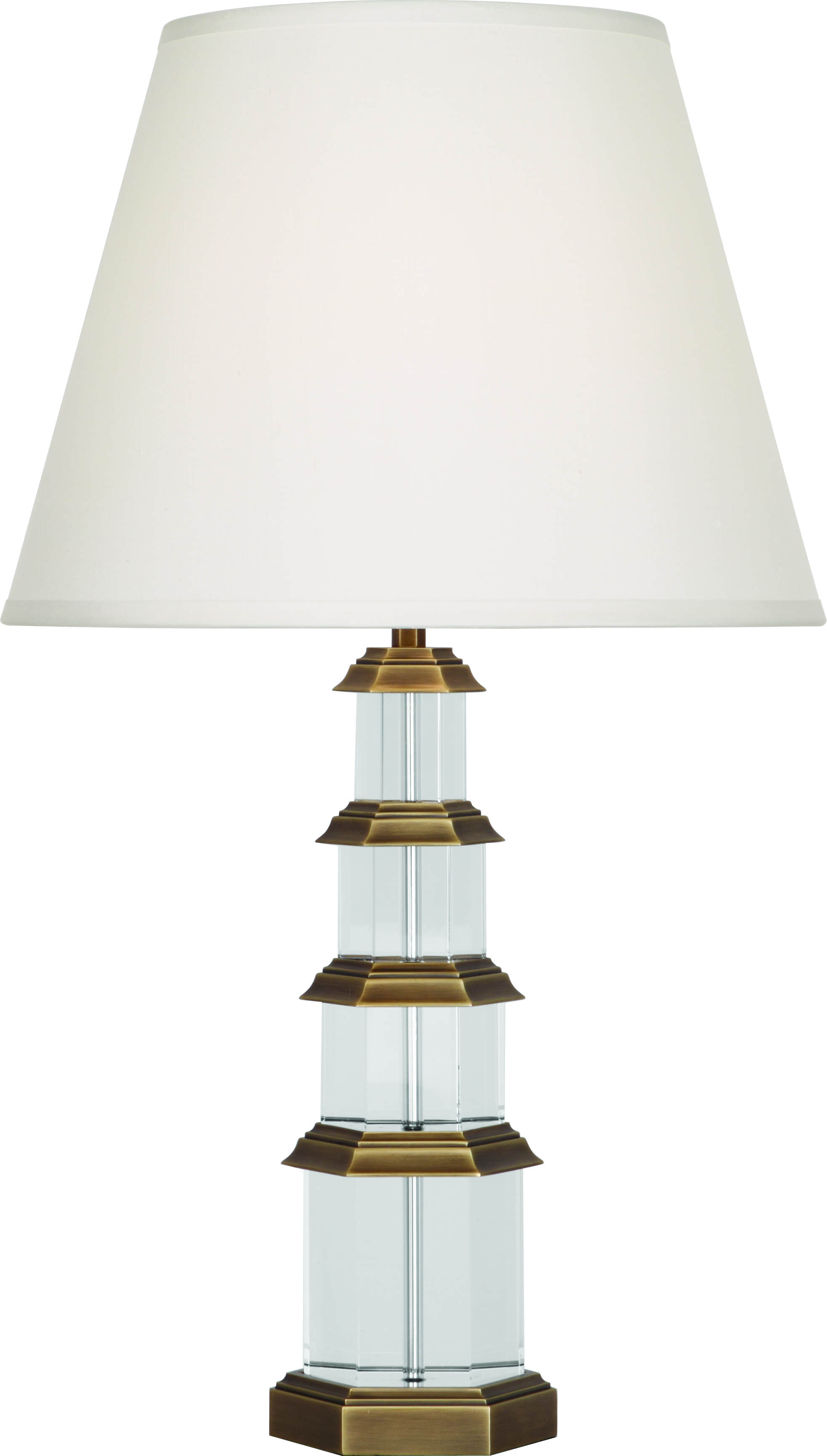 Trend Meets Tradition in this Gorgeous Lamp from the Colonial Williamsburg Collection for Robert Abbey Lighting.
