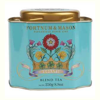 Fortnum & Mason's custom blend is a stunning tea and beautiful packaging.