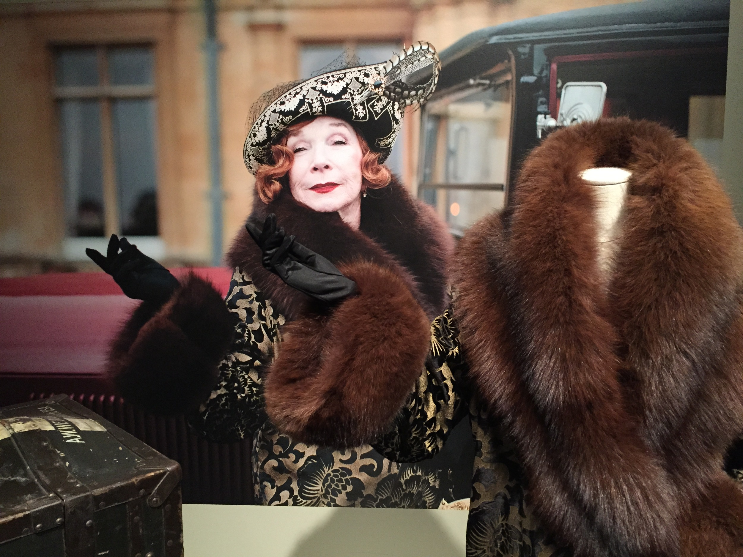 Lady Cora Crawley's outspoken mother Martha Levinson played by academy award winning actress Shirley MacLaine.