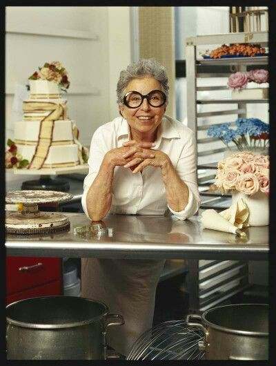 Sylvia Weinstock, the Queen of Cakes in her Kitchen