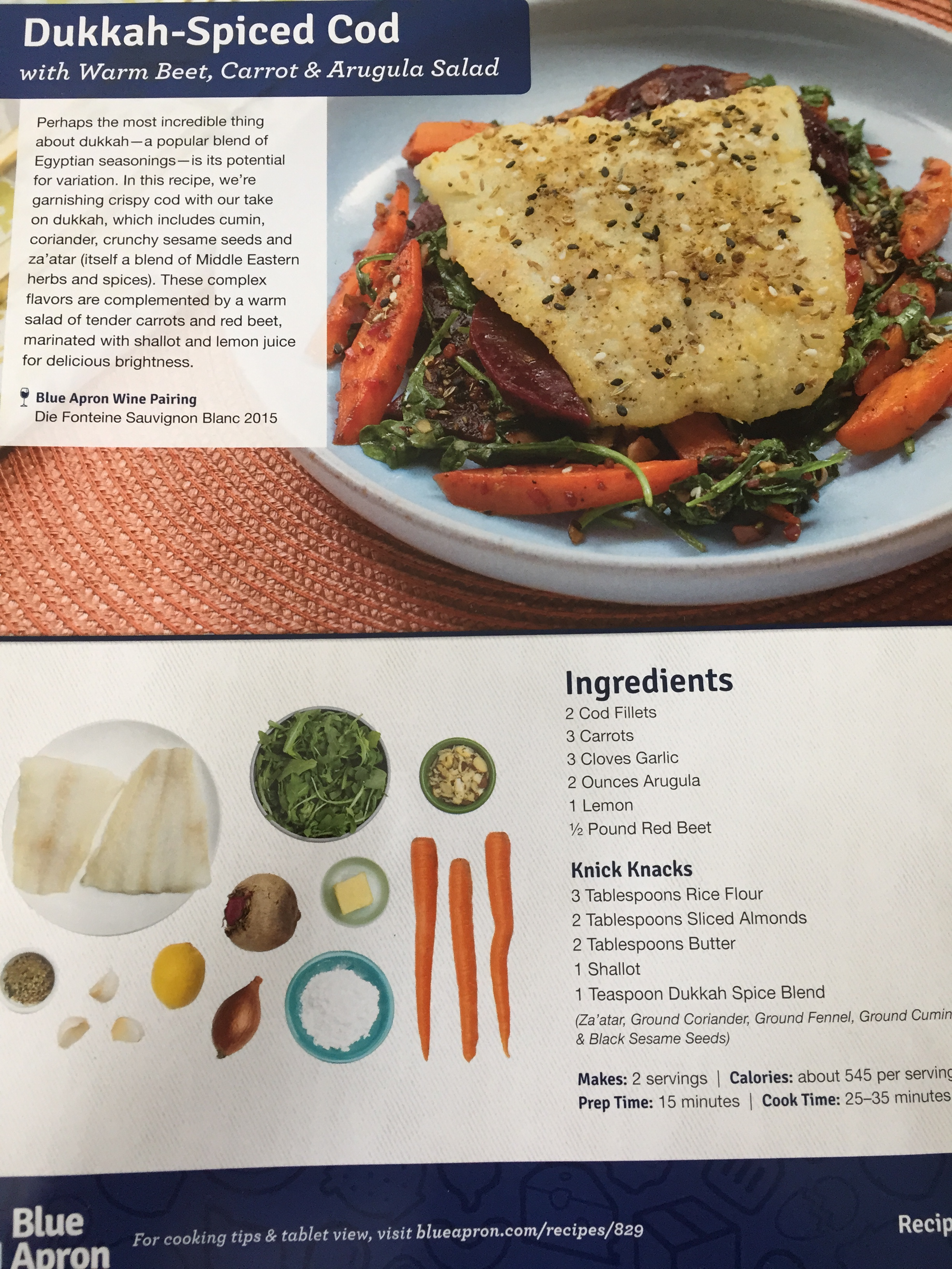 The Blue Apron recipe cards are incredibly easy to follow, and the combination of visuals and text avoid any misinterpretations. Julia Child would have loved what this is doing for inexperienced American cooks.