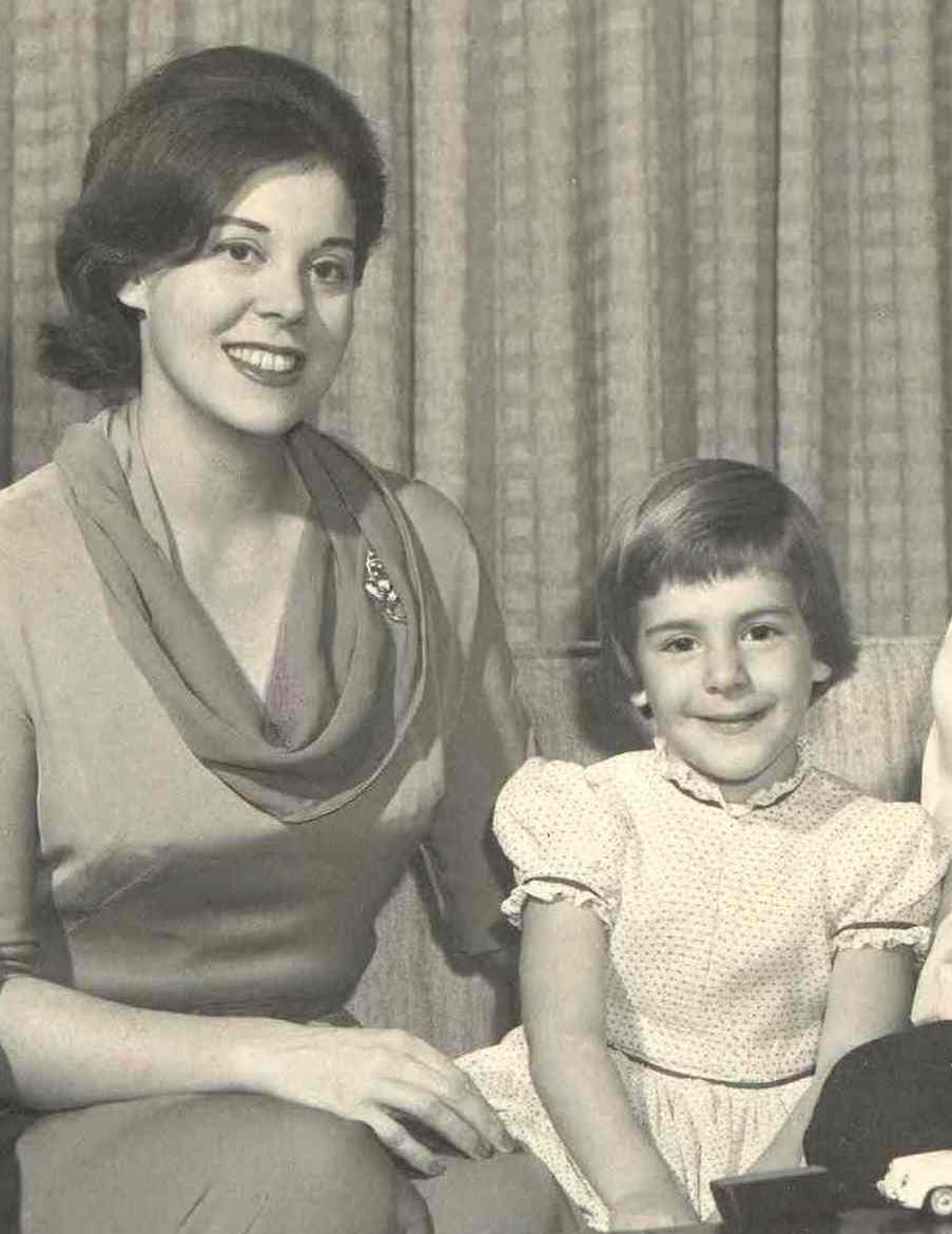 No mother ever loved her daughter more than Jan Tishman and her beloved daughter, Leslie. Shown here in a photo for the New York Times featuring their exquisite mid-century modern apartment on Park Avenue. They would remain fierce friends for 59 years.