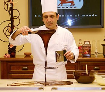 Perugia is famous for its chocolate. We'll tour La Casa del Cioccolato and taste the wonderful chocolates that have brought them global acclaim.