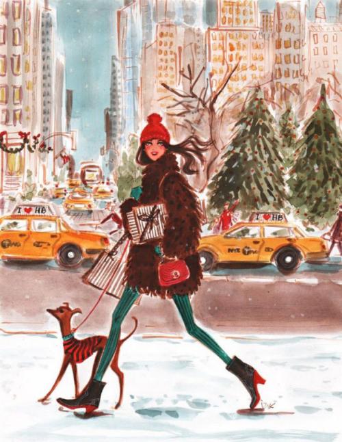 Hayden captures the magic of Christmas in New York City!