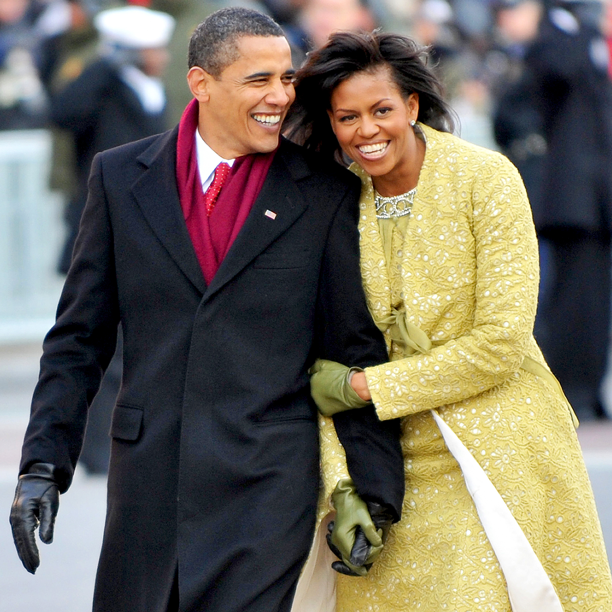 Barack and Michelle! They inspire us and lead by example.