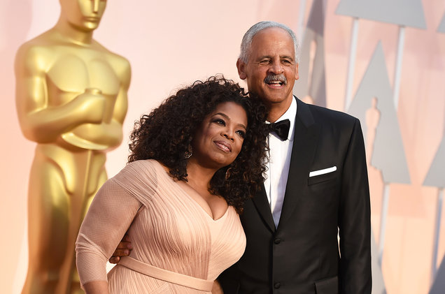 Oprah and Stedman, a visionary and her rock, her foundation. We admire their long commitment to love and support each other.