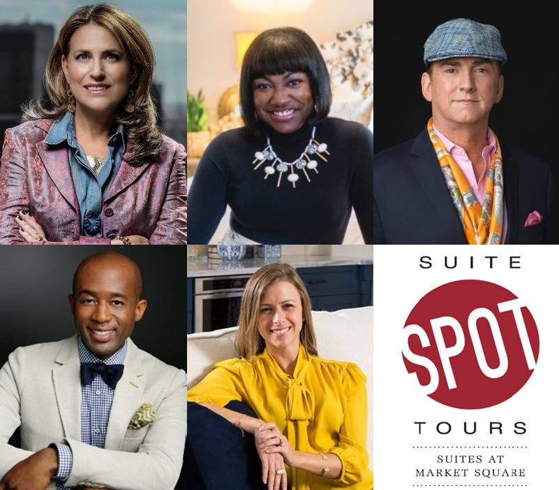 Leading Designers to Lead Suite Spot Tours