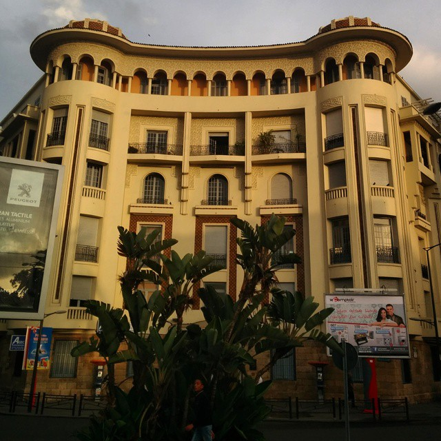 From our #neighborhoodlove series As the season changes to fall, the #casablancaskyline lights up! Bold colors, beautiful architecture, and the same mystique feel makes us your next destination! Come visit and share your own pictures with us. #tourism #travel #travellove #weloveourguests #discovermorocco #discovercasablanca
