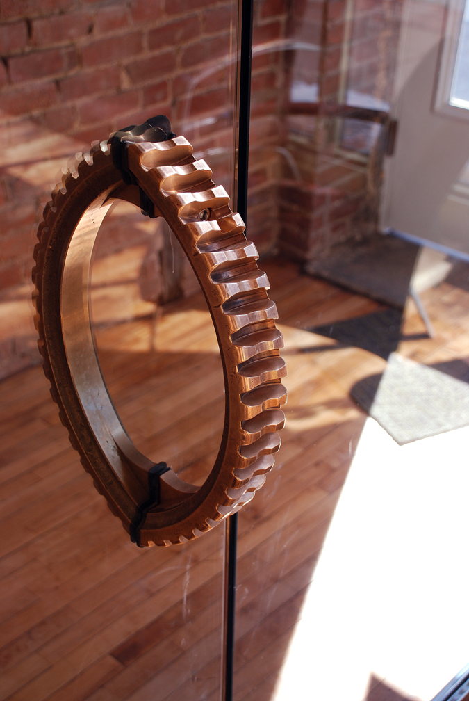 Ring Gear Door Pull