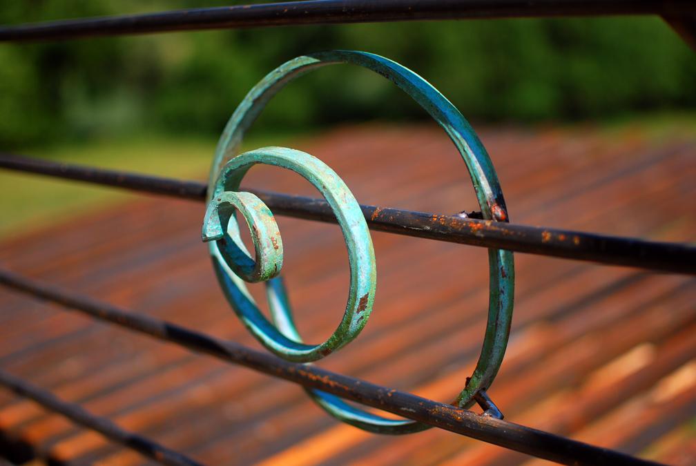 Balcony Porch Rail, Roanoke, VA