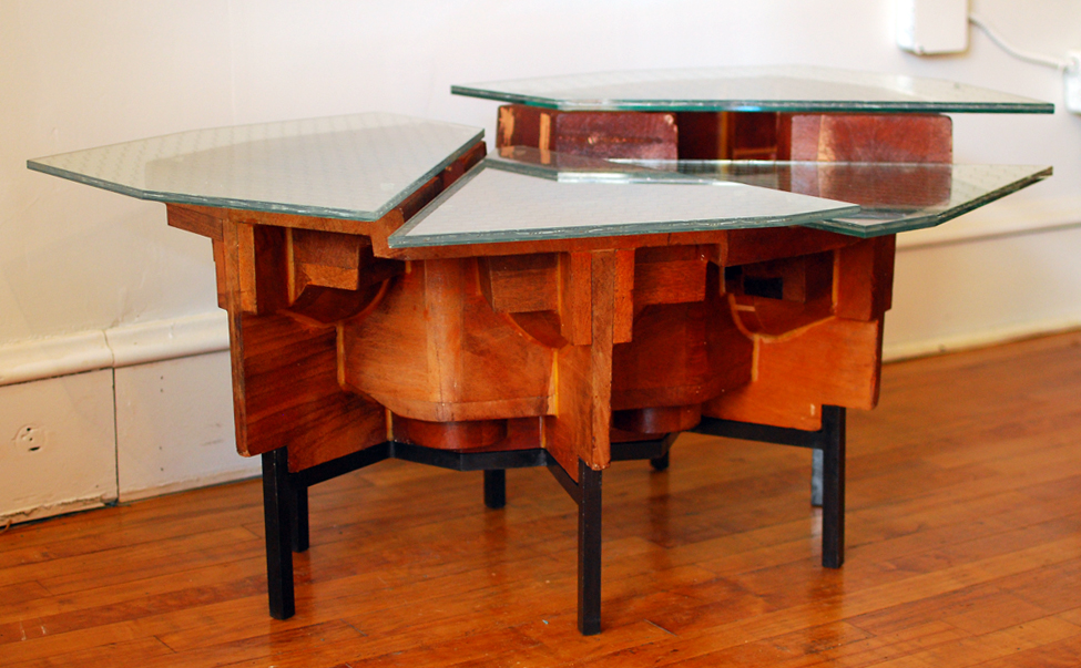 Foundry Pattern Coffee Table