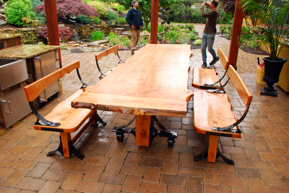 Farmhouse Patio Table