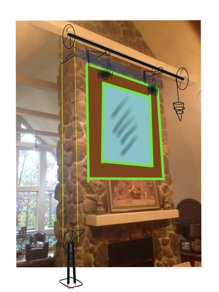 Concept: Mirror Hanging System